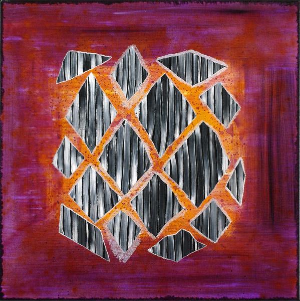 SENOSA.  2006.  Acrílico sobre tela.  80 x 80 cm