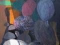 GALAPAGOS.  2007.  Técnica mixta sobre tela.  116 x  89 cm..