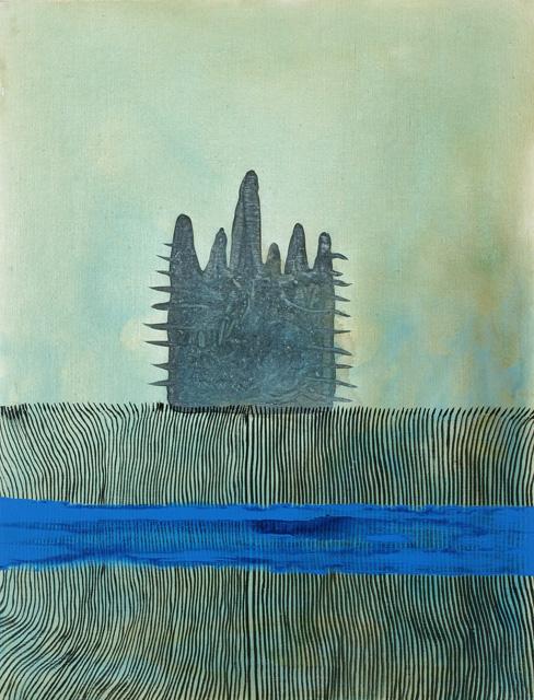 SED.  2005. Acrílico sobre tela.  116 x 89 cm..