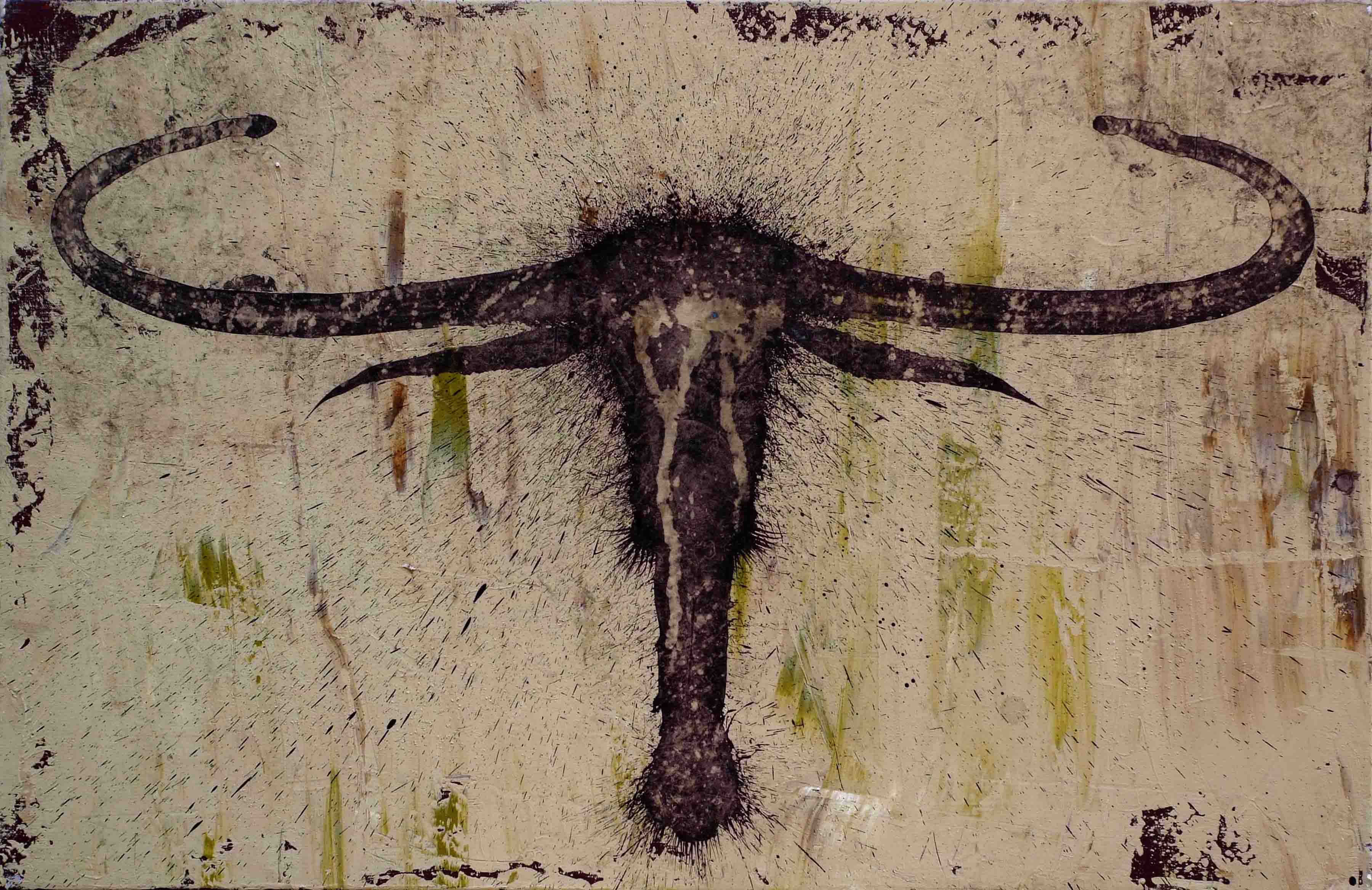 Sabana.   Acrílico sobre tela. 60 x 92 cm