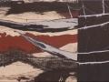 Marisma.-2012.-Técnica-mixta-sobre-tela-de-lino-crudo.-40-x-120-cm-.-.