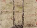 TERRE.  2012.  Acrilique sur toile. 92 x 60 cm ..