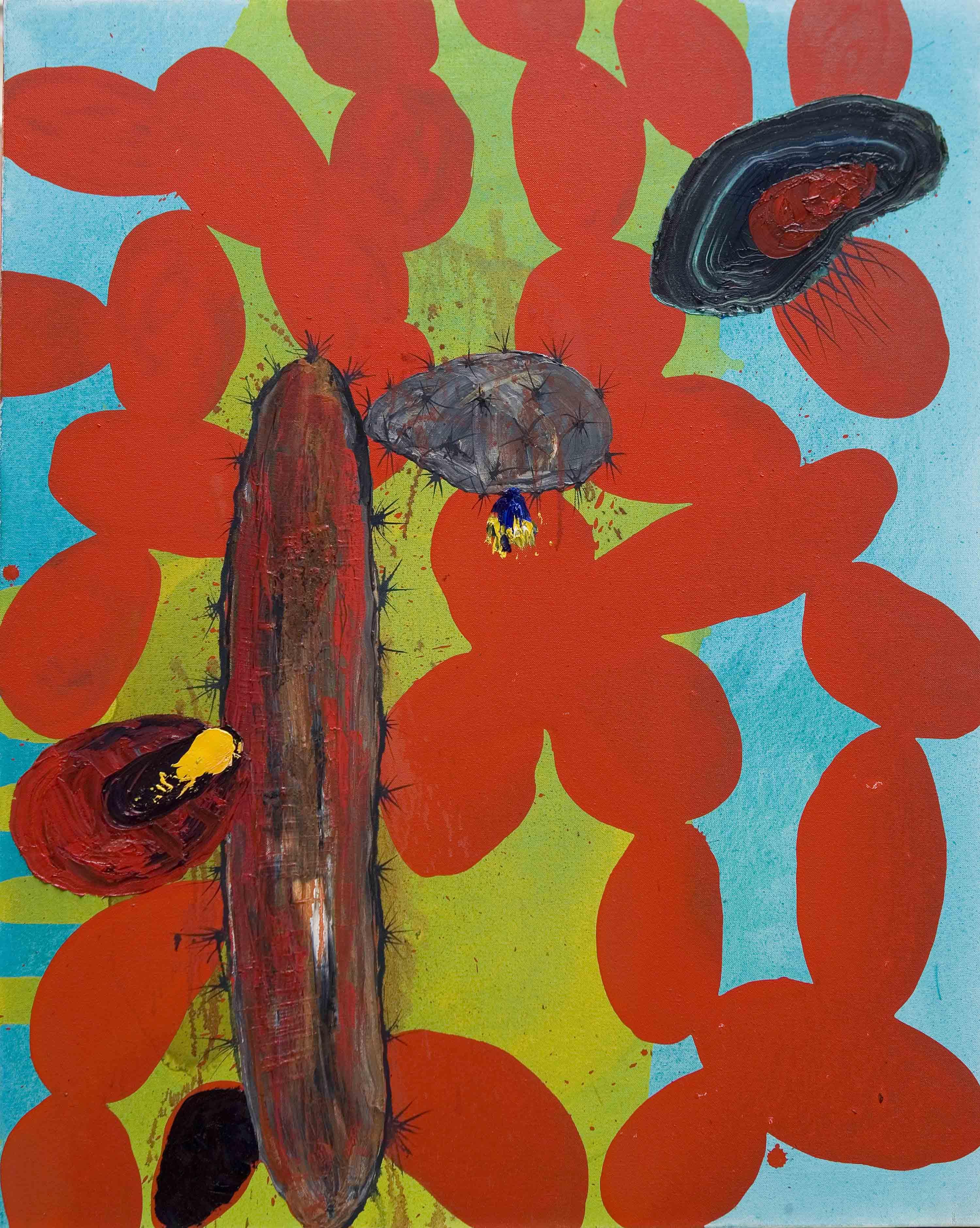 Tamayo-o-la-opuntia-roja.-2007.-óleo-y-acrílico-sobre-tela.-81x-65-cm-.