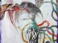 Pajareando.2008.Técnica-mixta-sobre-tela.80-x-80-cms