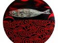 Nadando-nº5.2019-Técnica-mixta-s-tela.30-cm-diámetro.